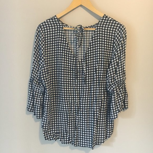 Maurice's Gingham Top